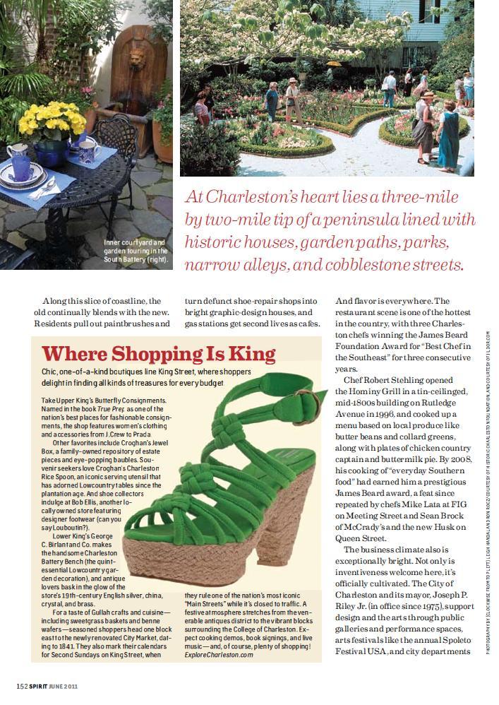 Southwest Spirit Mag June 2011_Where Shopping is King