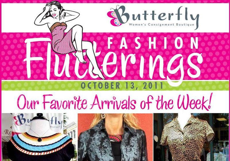 Fashion flutterings