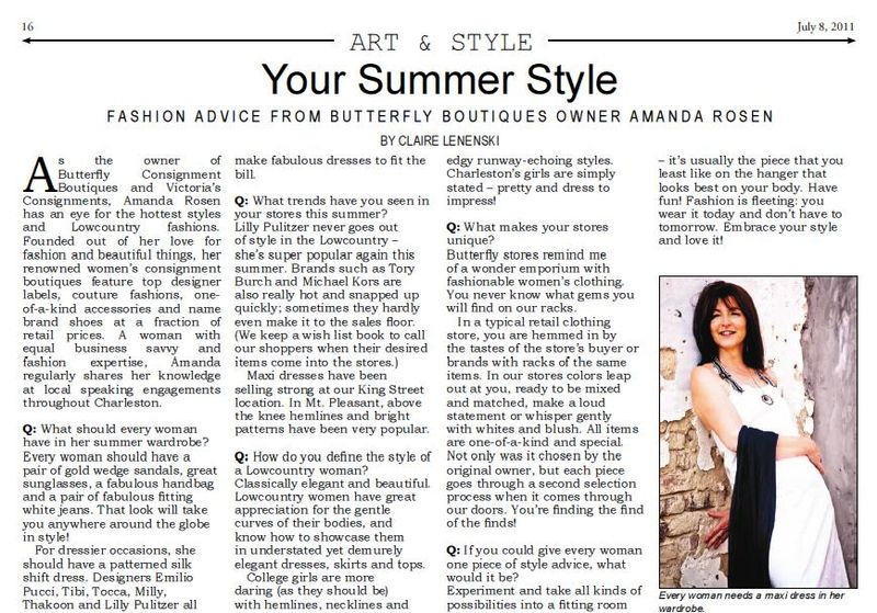 Island Eye_Your Summer Style_Butterfly July 2011