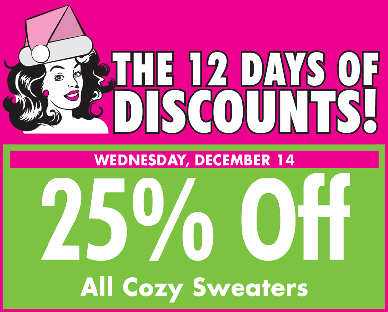 4th day of discounts