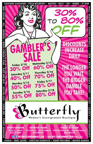 Butterfly.GamblersSale2.Poster.11x17